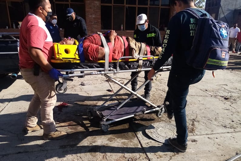 Murió en elhospital ladrón golpeado por vecinos de Tlacolula