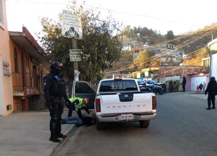 A balazos ejecutan a hombre en la colonia Sabino Crespo