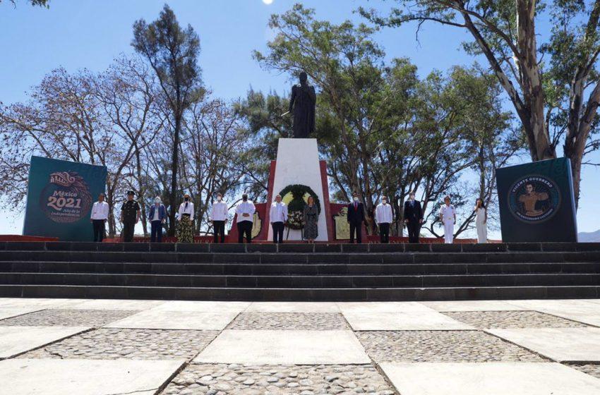 Vicente Guerrero Saldaña, símbolo de la unidad nacional: Alejandro Murat