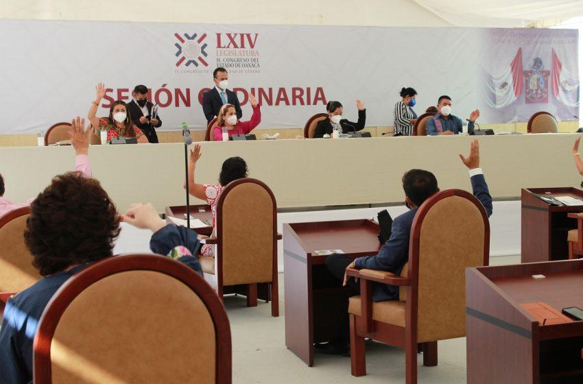 Envía Congreso al Ejecutivo lista de aspirantes a ocupar la titularidad de la Fiscalía en Oaxaca