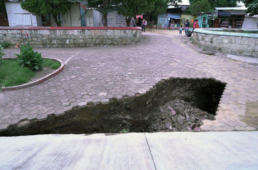 Activa SAPAO plan de supervisión emergente en asentamientos originados por las intensas lluvias