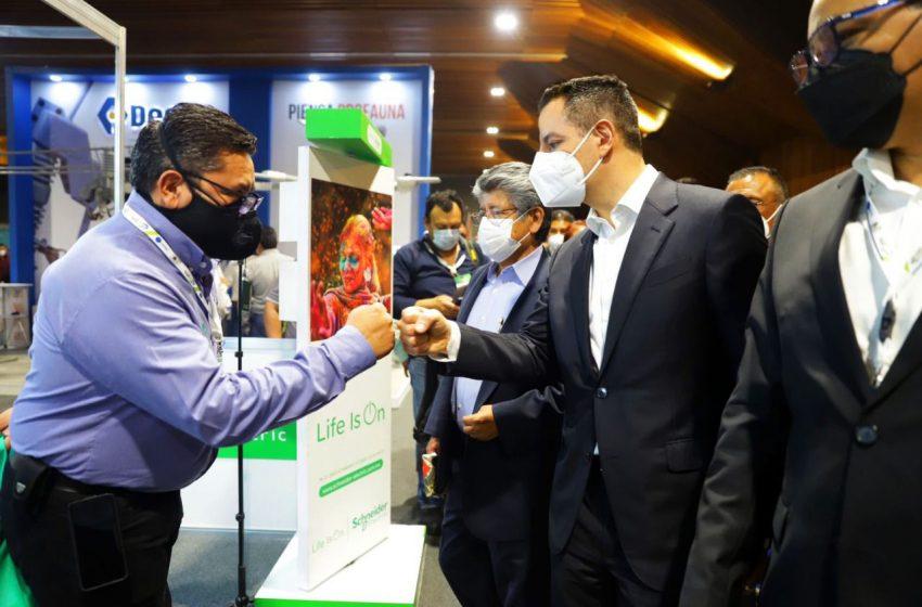 Inaugura AMH Primera Expo Congreso Internacional Eléctrico del Sureste 2021