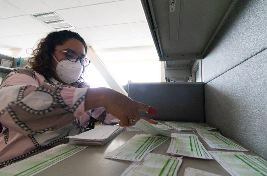 Trabajo constante para alcanzar tus metas, filosofía de Guadalupe Cruz, trabajadora de la Secretaría de Administración