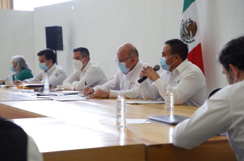 AMH y funcionarios del Gobierno Federal se reúnen para lograr el ordenamiento del sector salud del estado