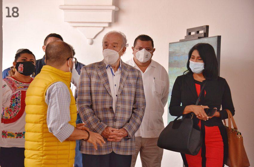 Visita dirigente nacional del STIRTT, Ricardo Acedo Samaniego, galerías de la CCO