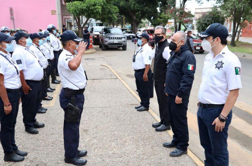 Dotan de moderna red de comunicación para corporaciones policiales de la SSPO