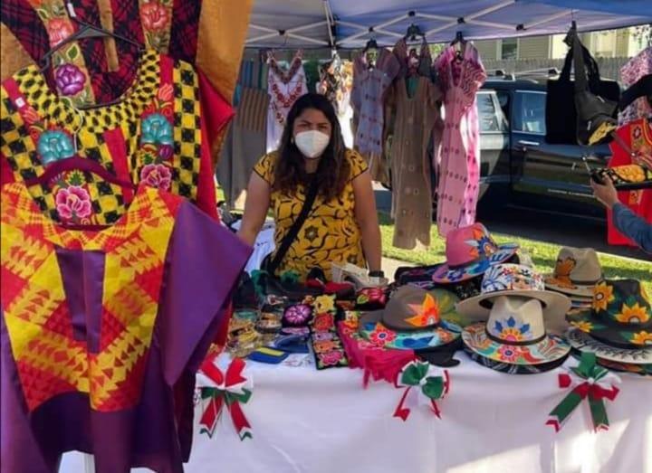 Artesanas de Oaxaca logran colocar artesanías en Nueva York