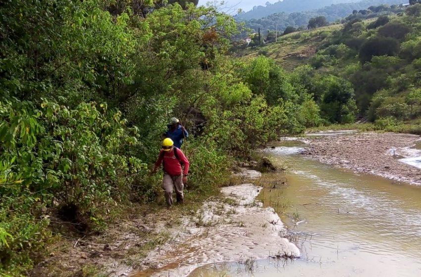 Rescata CEPCO en coordinación con la Semar cuerpos desaparecidos por arrastre de río en la Mixteca