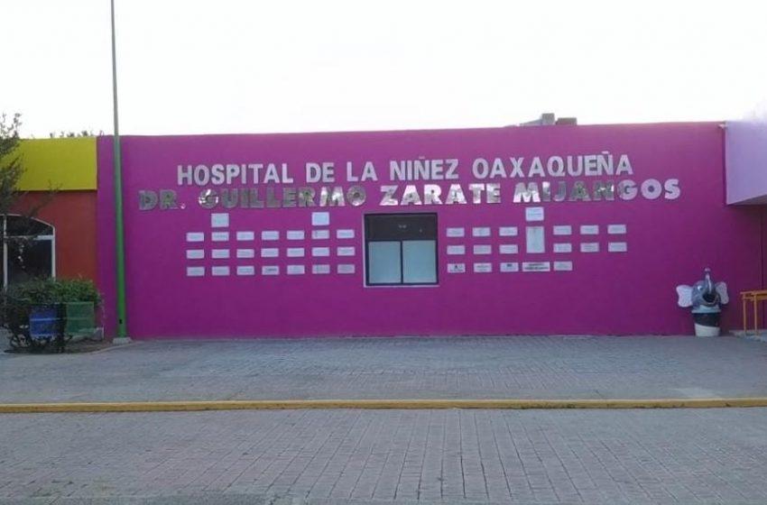 Oferta Hospital de la Niñez Oaxaqueña 10 plazas para médicos especialistas