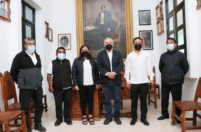 Clausura titular de la SSPO Curso de Inducción Policial dirigido a topiles y mayores de Guelatao de Juárez