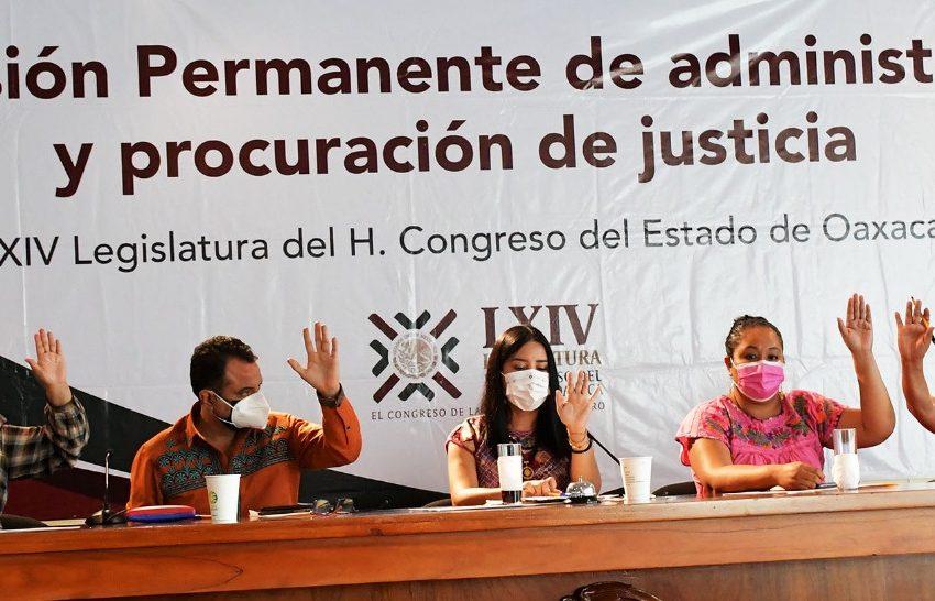 Comparecen ante el Congreso aspirantes a ocupar magistraturas del Tribunal de Justicia de Oaxaca