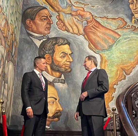 """Anuncian Alejandro Murat y Embajador Esteban Moctezuma """"Mes de #Oaxaca en Estados Unidos"""""""