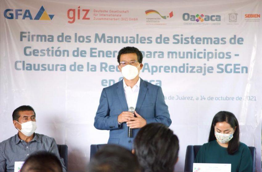 De forma histórica, municipios incluyen política energética como parte de su política social: RVM