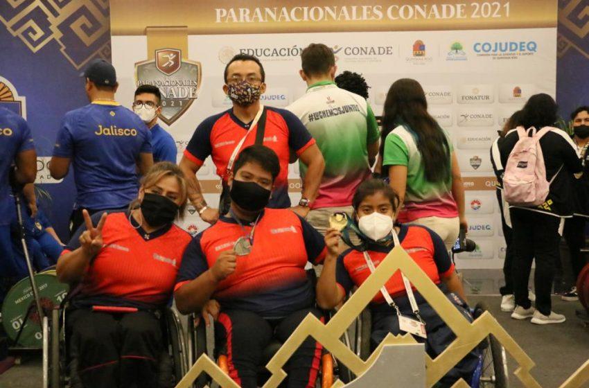 Suma #Oaxaca sus primeras medallas en los Paranacionales Conade con oro y plata en parapowerlifting
