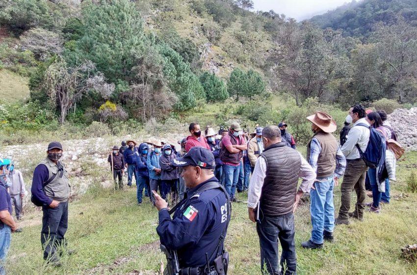 Sin incidentes primera etapa de los trabajos técnicos topográficos en Santa Catarina Yosonotú y Santa Lucía Monteverde #Oaxaca